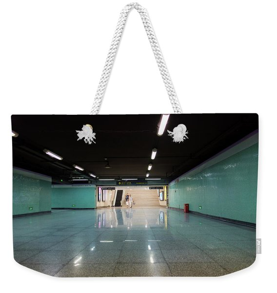 Into The Tunnel Weekender Tote Bag