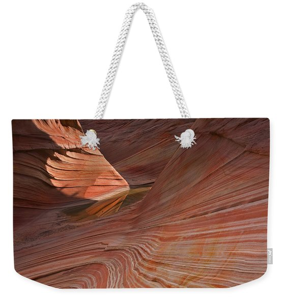 Into The Wave Weekender Tote Bag