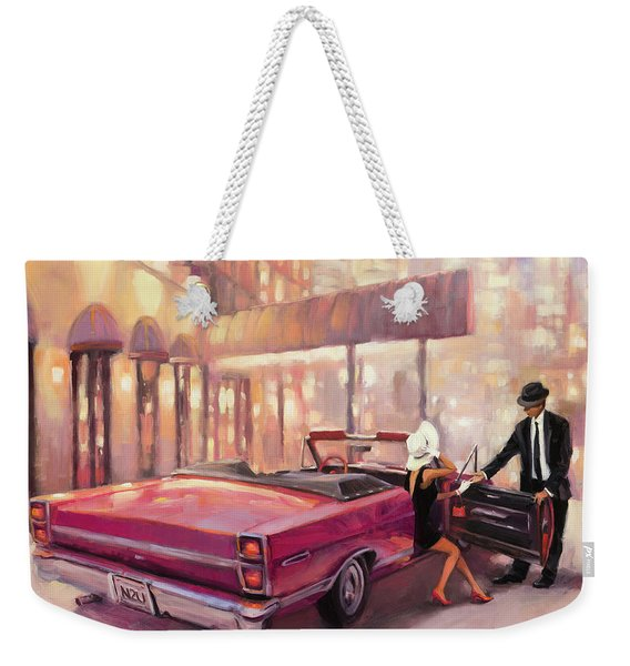 Into You Weekender Tote Bag