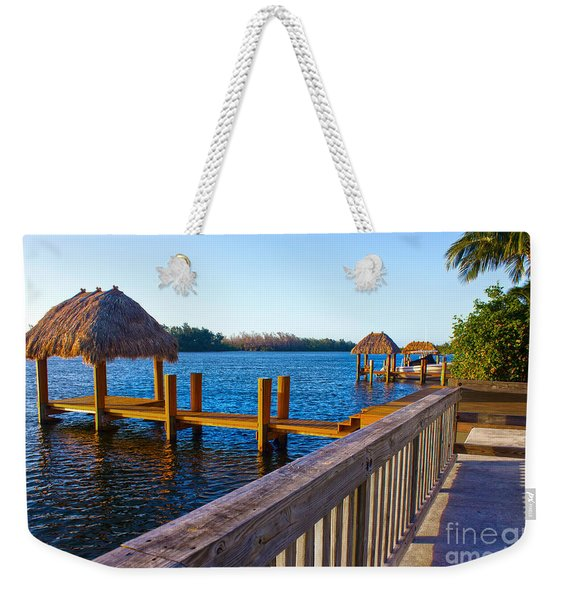 Intracoastal Series 12 Weekender Tote Bag