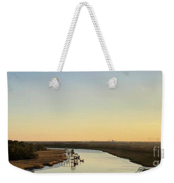 Intracoastal Waterway Weekender Tote Bag