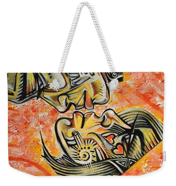 Intricate Intimacy Weekender Tote Bag