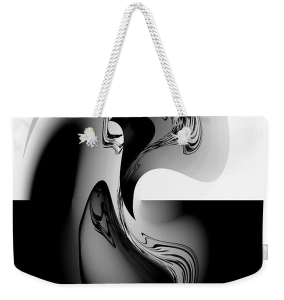 Introspection Digital Art Weekender Tote Bag