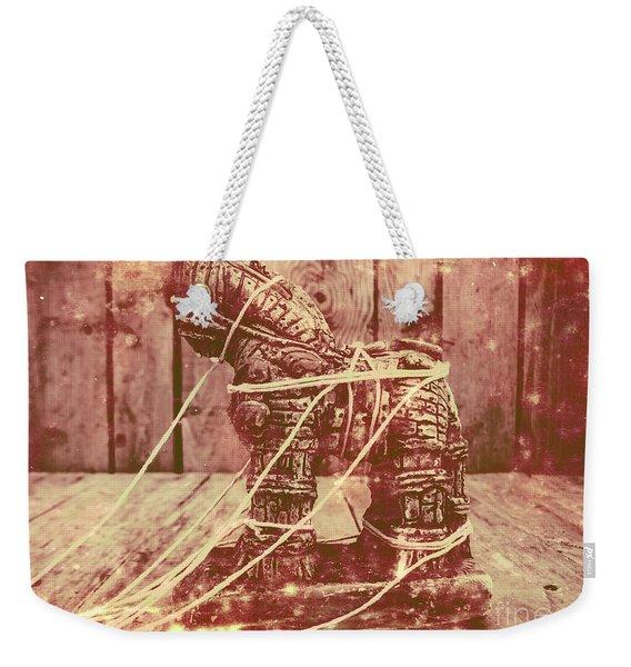 Invasion In Ancient History Weekender Tote Bag