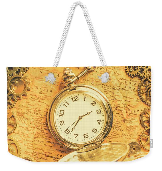 Invention Of Time Weekender Tote Bag