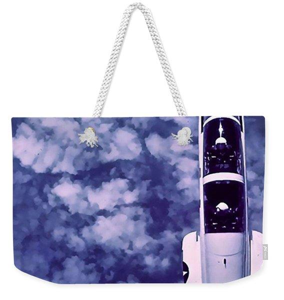 Inverted Flight Weekender Tote Bag