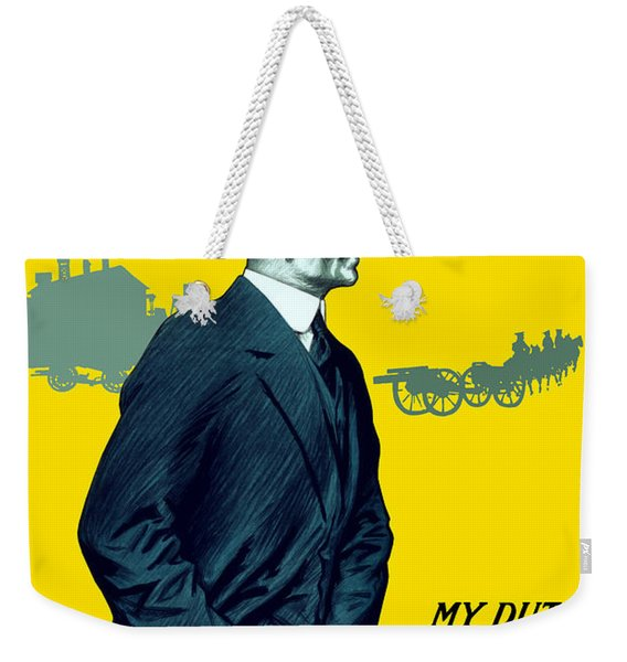 Invest In The War Loan - Ww1 Weekender Tote Bag