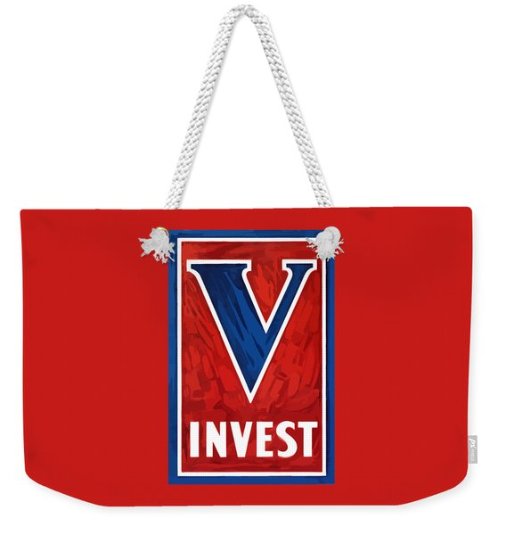 Invest In Victory - World War 2 Weekender Tote Bag
