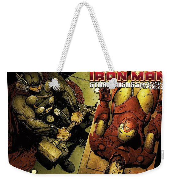 Invincible Iron Man Weekender Tote Bag