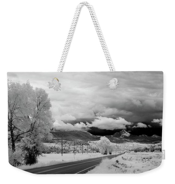 Invisible Drive Weekender Tote Bag