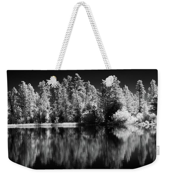 Invisible Reflection Weekender Tote Bag