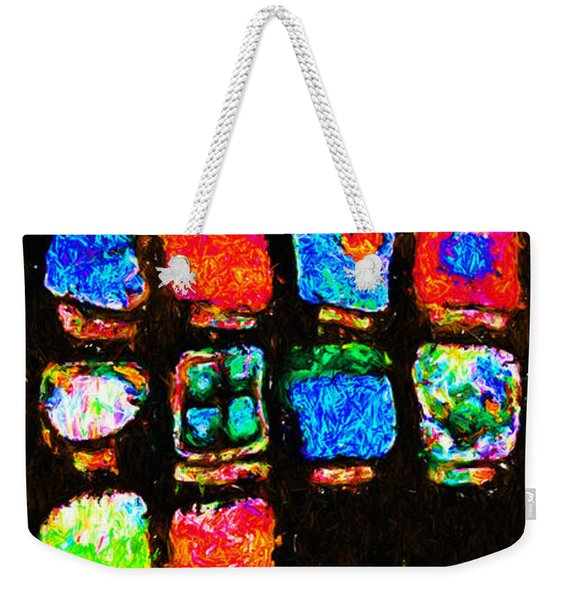 Iphone In Abstract Weekender Tote Bag
