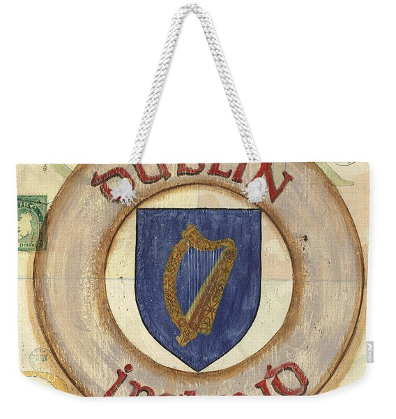 Ireland Coat Of Arms Weekender Tote Bag