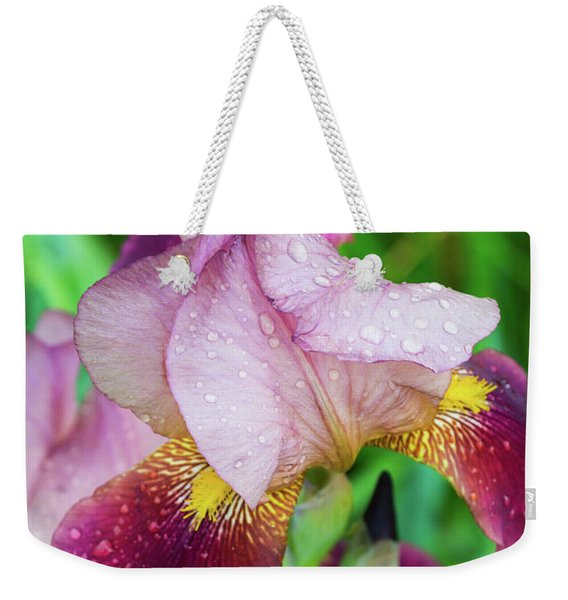 Iriis After Rain Weekender Tote Bag