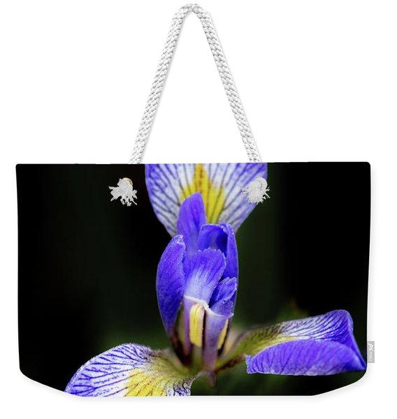 Iris #1 Weekender Tote Bag