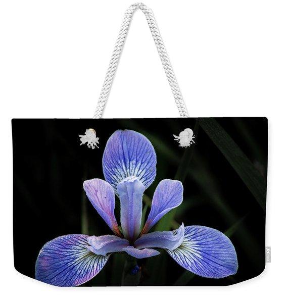 Iris #4 Weekender Tote Bag