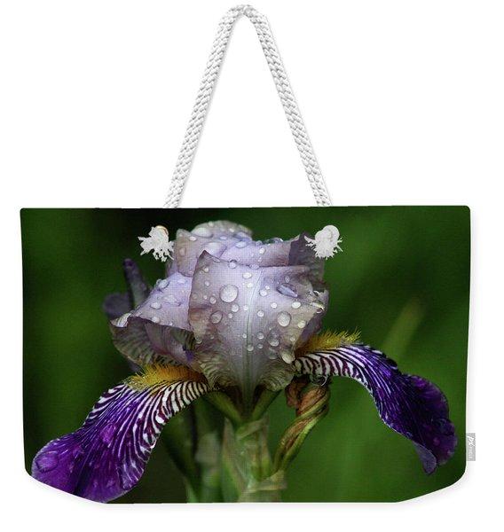 Iris After The Rain 1409 H_2 Weekender Tote Bag