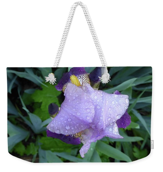 Iris After The Rain IIi Weekender Tote Bag