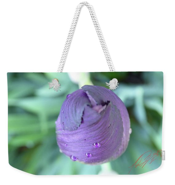 Iris After The Rain Vi Weekender Tote Bag