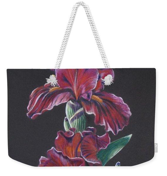 Iris Eyes Weekender Tote Bag