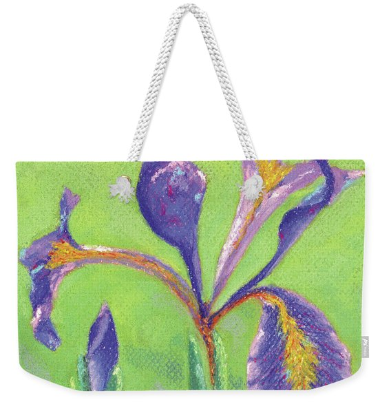 Iris For Iris Weekender Tote Bag