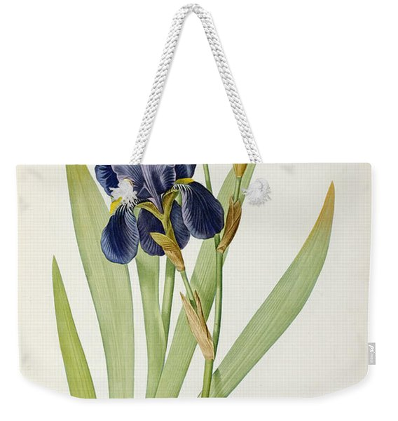 Iris Germanica Weekender Tote Bag