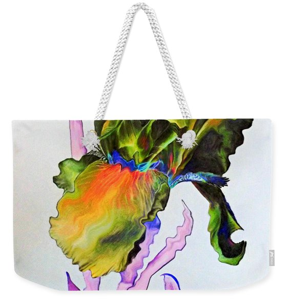 Iris Of A Different Color Weekender Tote Bag
