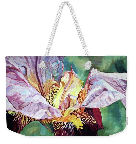 Iris Passion 1993 Weekender Tote Bag