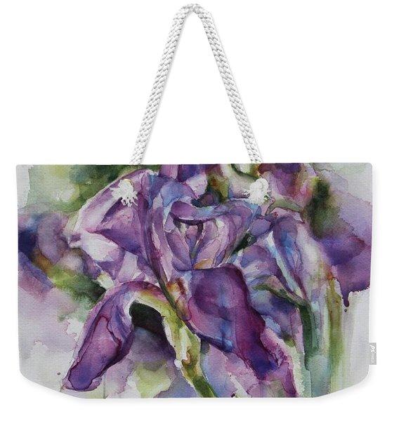 Iris Song Weekender Tote Bag