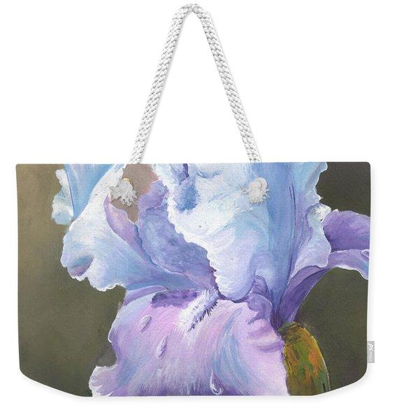 Iris Tears Weekender Tote Bag