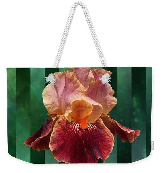 Iris Unleashed Weekender Tote Bag