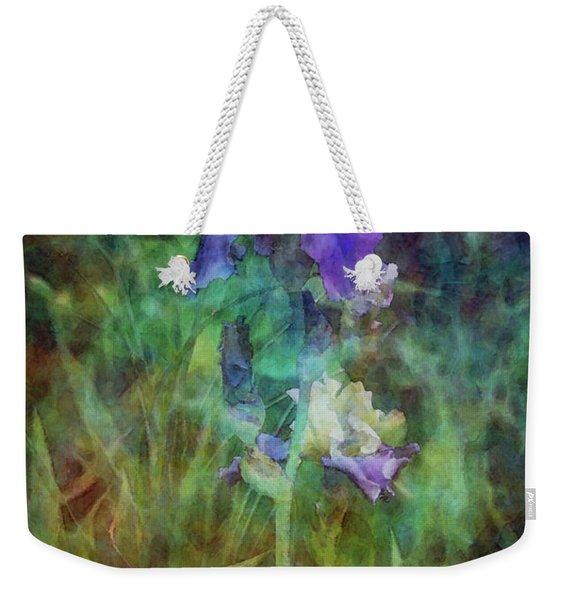 Irises 6618 Idp_3 Weekender Tote Bag
