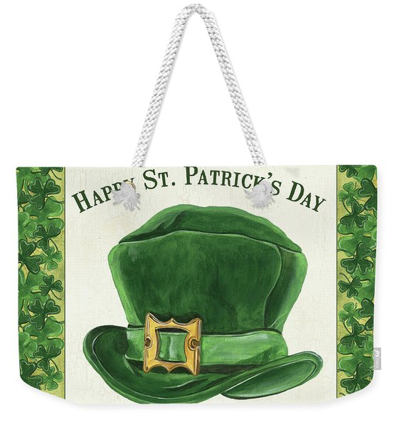 Irish Cap Weekender Tote Bag