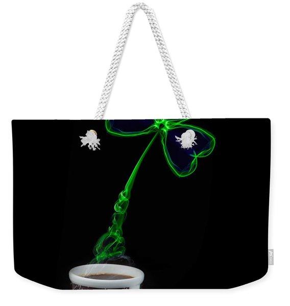 Irish Coffee Weekender Tote Bag