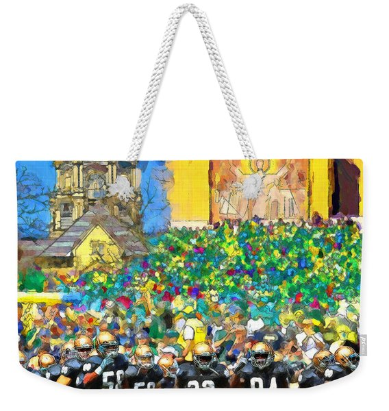 Irish Run To Victory Weekender Tote Bag