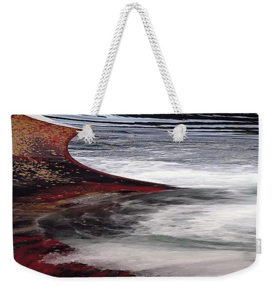 Iron Beach Weekender Tote Bag