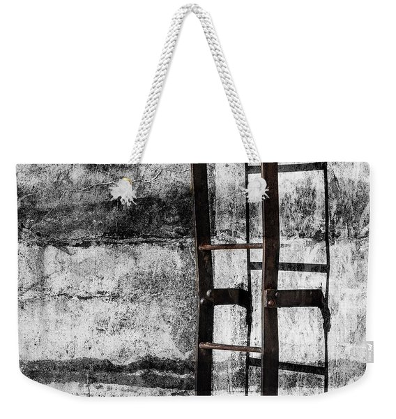 Iron Ladder Weekender Tote Bag