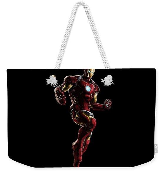 Iron Man Weekender Tote Bag