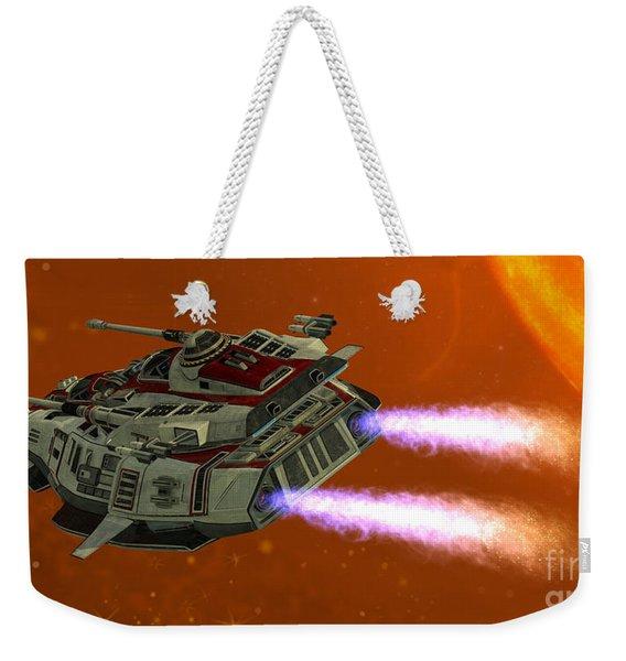 Ironstar In Space Weekender Tote Bag