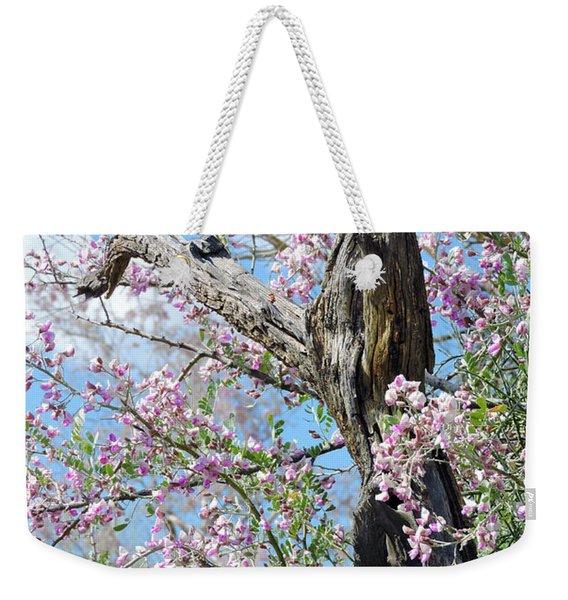 Ironwood In Bloom Weekender Tote Bag