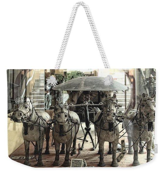 Irs From Heaven Weekender Tote Bag