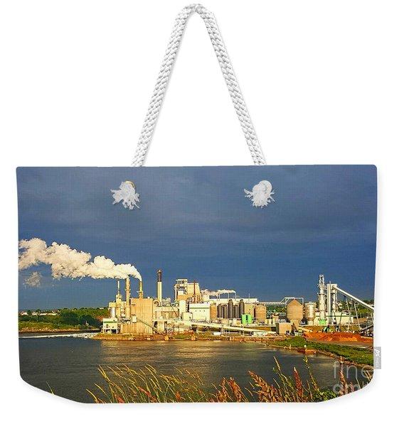 Irving Mill Weekender Tote Bag