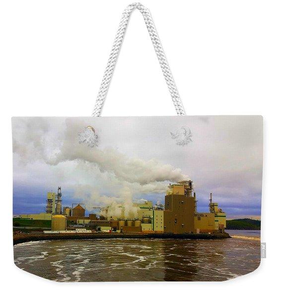 Irving Pulp Mill #3 Weekender Tote Bag