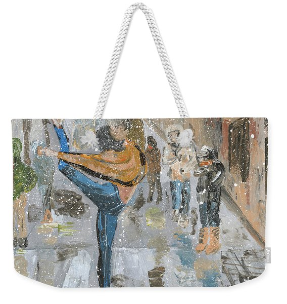 Is Grace Ever Out Of Place Weekender Tote Bag