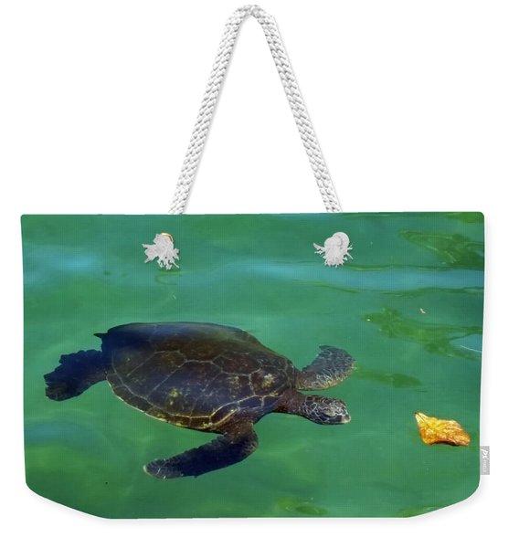 Is That Lunch Weekender Tote Bag