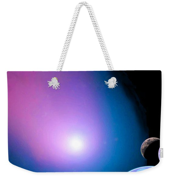 Is There Any Place God's Light Doesn't Shine? Weekender Tote Bag