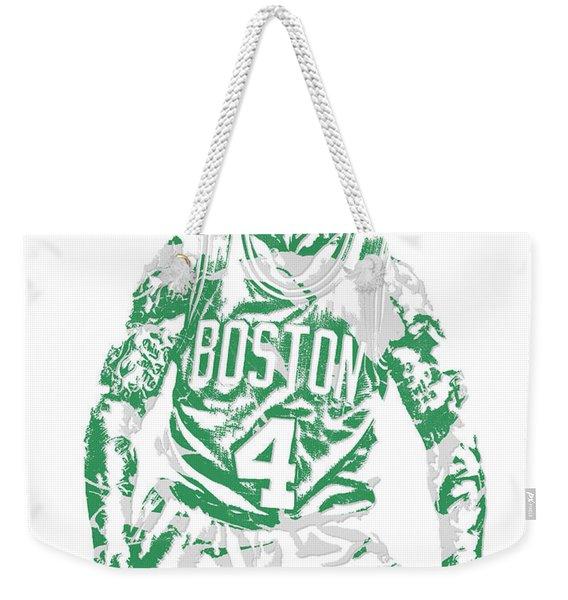 Isaiah Thomas Boston Celtics Pixel Art 16 Weekender Tote Bag