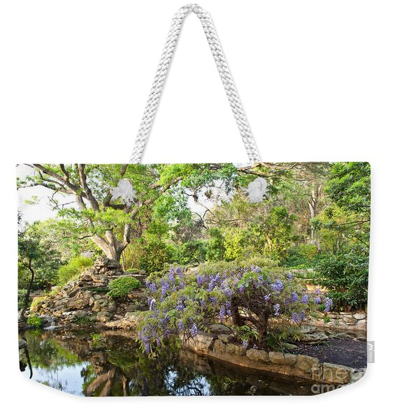 Isamu Taniguchi Japanese Garden Weekender Tote Bag