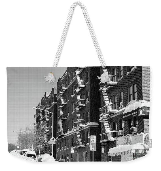 Isham Street Winter Weekender Tote Bag