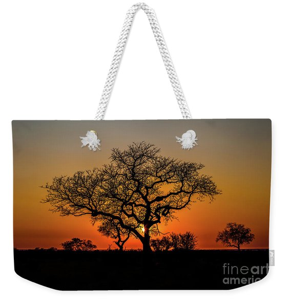 Weekender Tote Bag featuring the photograph Isimangaliso Wetland Park by Benny Marty